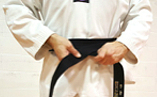 How to tie your Taekwondo belt Step 2